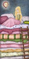 princess and the pea by chuckometti