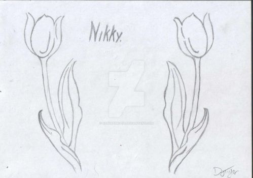 Two Tulips by AetherDryth