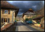HDR Romainmotier 4 by sandpiper6
