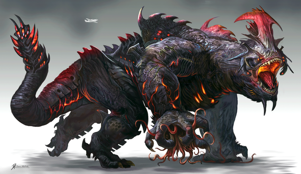 Kaiju-Big-2 by Davesrightmind