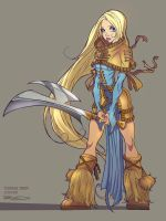 Character Design Twinblades 02 by RobDuenas