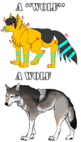 CLICHES GUIDE: My Wolf OC by Roneri