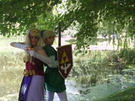 Zelda and Link by MaiDair