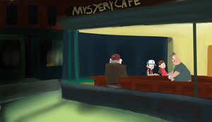 The Mystery Cafe by SirSupa