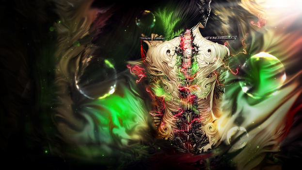another freaky wallpaper.. by fesell