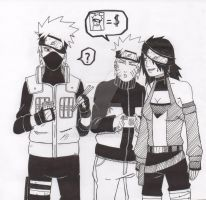 request kakashi with naruto and oc by alpha89