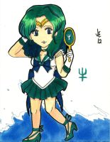 Super Sailor Neptune by jenni0014