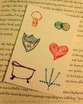 ACEO - Bookmark for An Abundance of Katherines by strryeyedreamr27