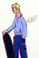 Skater Dude? by GhostdramonX