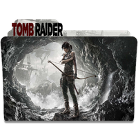 Tomb Raider Folder Icon by SAMUEPV