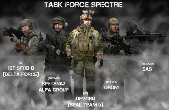 Task Force Spectre (MOH: Warfighter) by Kommandant4298
