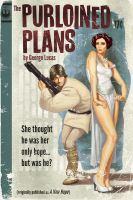 Star Wars Pulp, part 4: The Purloined Plans by TimothyAndersonArt