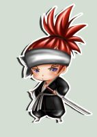 Chibi Renji from Bleach by Claui
