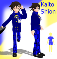 MMD Newcomer Kaito Shion by Angellbaby