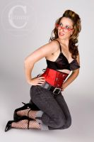 Skull Waist Cincher II by MAdams06