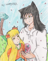 father and daughter flower by sSflowerSs