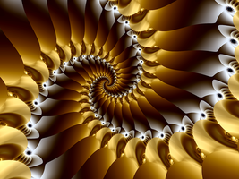 Honeycomb Spiral Revisited by fraxialmadness3