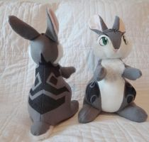 Rise of the Guardians: Bunnymund Plush by Colt-kun