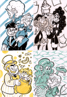 Sketchcard Sillies by TopperHay