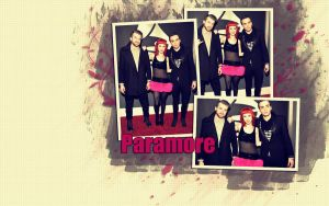 Paramore wallpaper by lovestickmelody