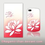 Flowers - Phone Skin for BlackBerry Q10 by Nagamii-Chan