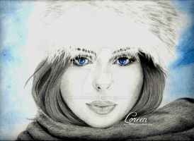 GIRL-WINTER by mrsloreen