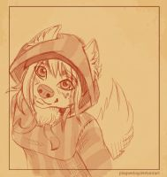 Daily Sketch 8/15/14: Sienna by Plaguedog