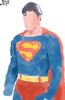 Random Superman by paintpaintalltheday