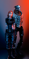 Mass Effect by Lulu-E-Lin