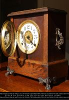 Mantel Clock Stock3 by The-Average-Alex