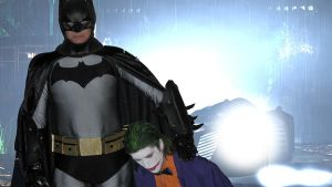 Delivering the Joker to Arkham by batty9999