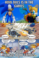 Tails Comparison by Psyco-The-Frog