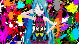 MMD Tell your World Miku by Sucaloid321