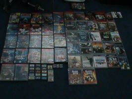 MY VIDEO GAME COLLECTION!!!!!!! by Jaws1996