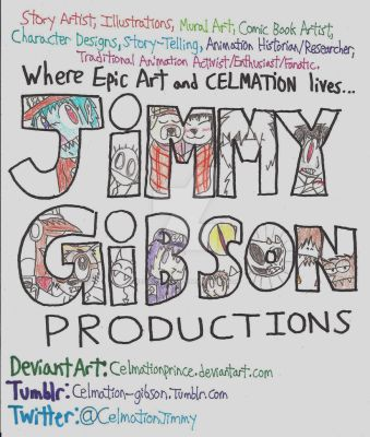 Jimmy Gibson Production Poster by CelmationPrince