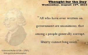 Thought for the Day - August 14th, 2013 by ebturner