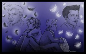 SPN: Together. Alone. Haunted. by blackbirdrose