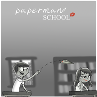 paperman: fantasy by TheBluBerry
