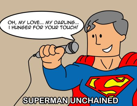Superman Unchained by radioactivespider1