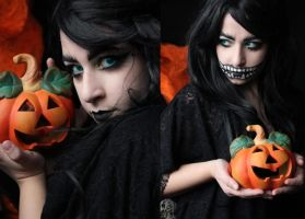 Dark Witch Makeup by SelyaMakeup