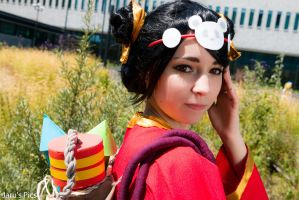 ~Helimatra Cosplay~ Panda Annie - Looking Back by HelimatraCosplay