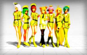 MMD Nakao Sexy Taxi Series DL by 2234083174