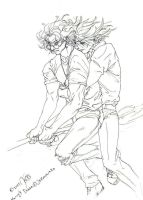 Harry and Draco by KraeHi