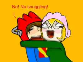 Ven and Beth snuggle! by AnMachi
