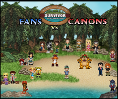 Survivor Fan Characters 12 Fans vs Canons by SWSU-Master