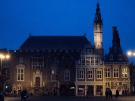 town hall Haarlem by marob0501