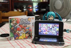 Dairanto Smash Brothers on 3DS by BoboMagroto