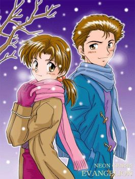 Toji and girlfriend by AnimeOtaku4