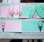 New business cards by LadyOgien