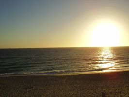 The Sunset at Cottesloe I by The-Free-Thinker